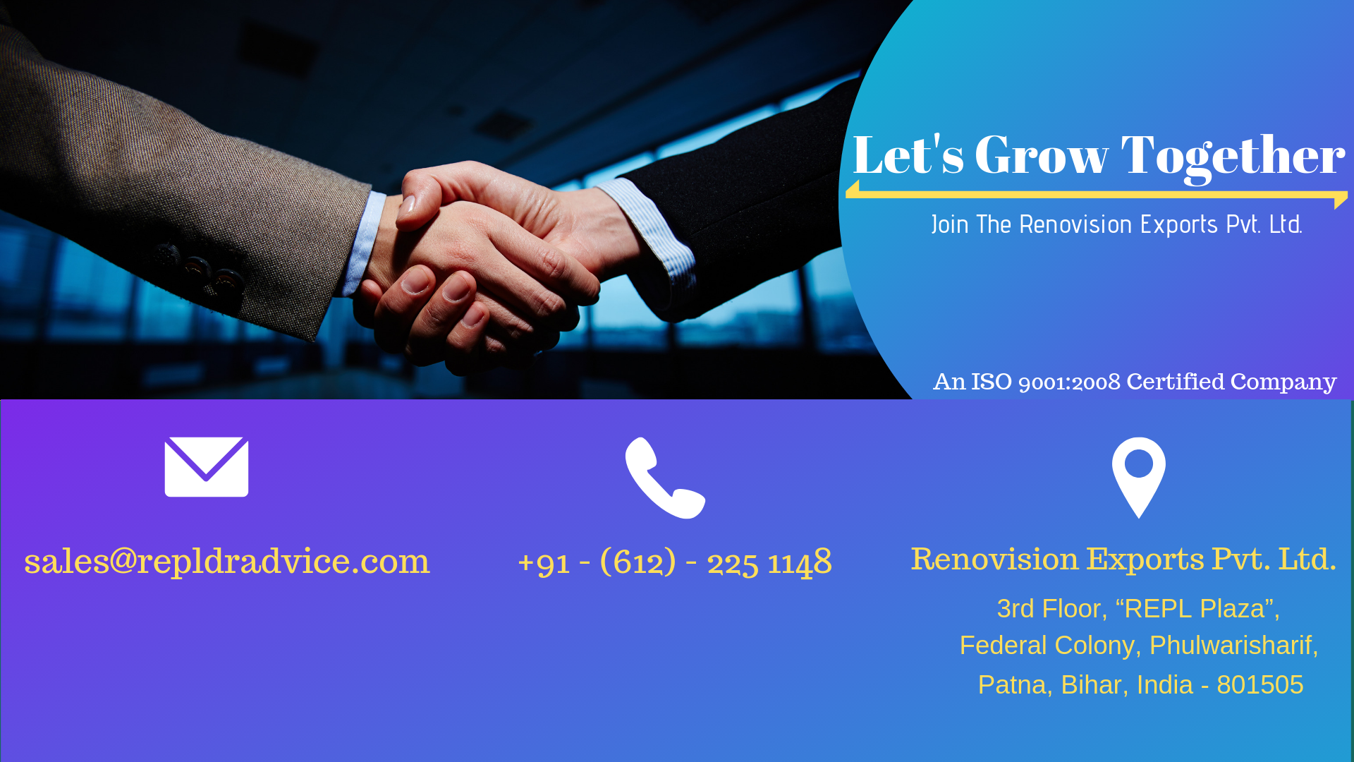 Business with us