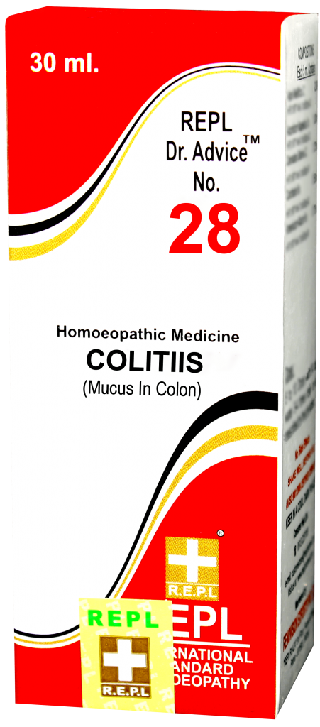 REPL Dr. Advice No. 28 Colitis.